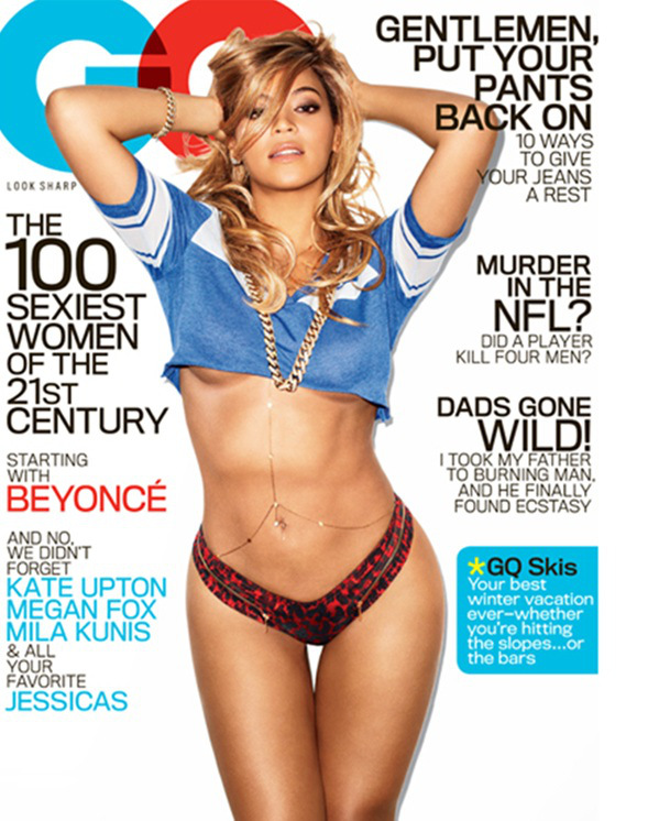 Beyonce Covers the February Issue of GQ Magazine