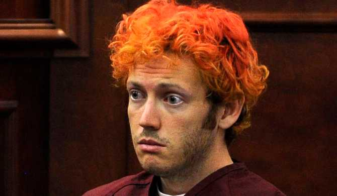 James Holmes in the Courtroom
