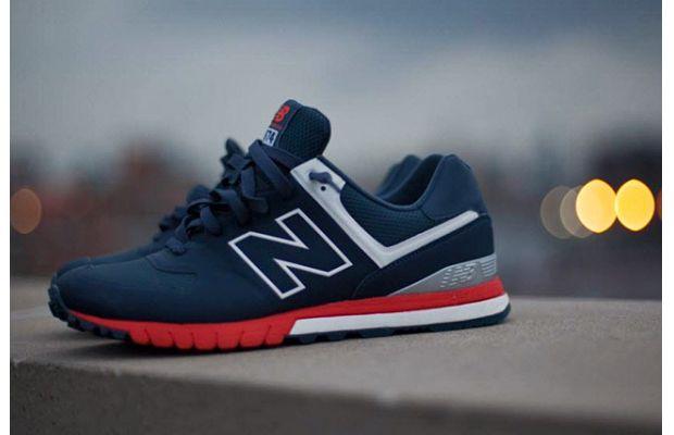 "New Balance 574 Revlite ""Navy/Red-White"""