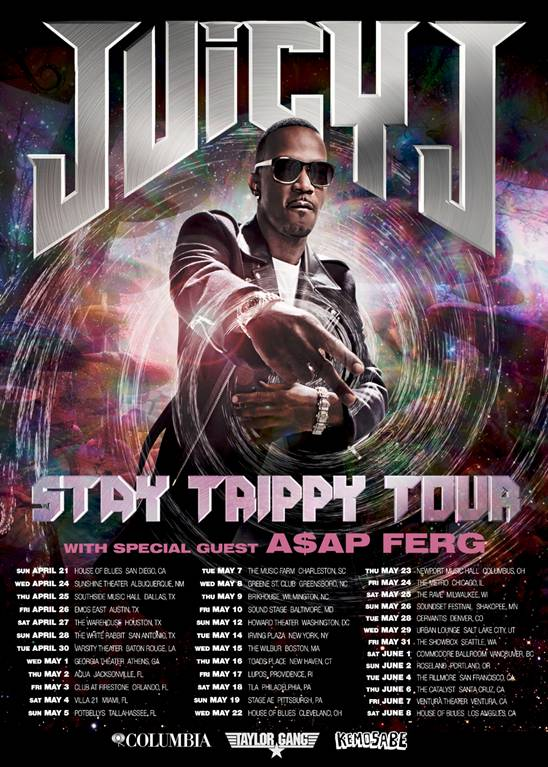 "Juicy J ""Stay Trippy"" Tour"
