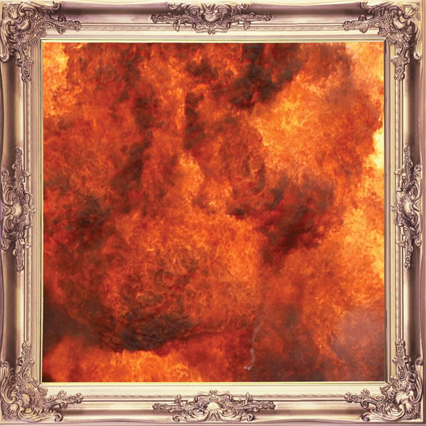 Cover of Kid Cudi's Indicud, Out April 23
