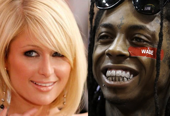 Paris Hilton (left) & Lil' Wayne (right)